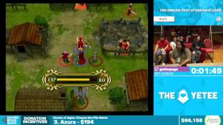 Fire Emblem: Path of Radiance by Gwimpage in 2:05:06 - Awesome Games Done Quick 2016 - Part 12