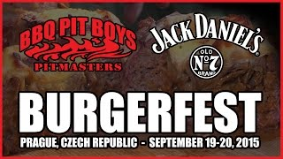 Jack Daniel's Burgerfest presents the BBQ Pit Boys.