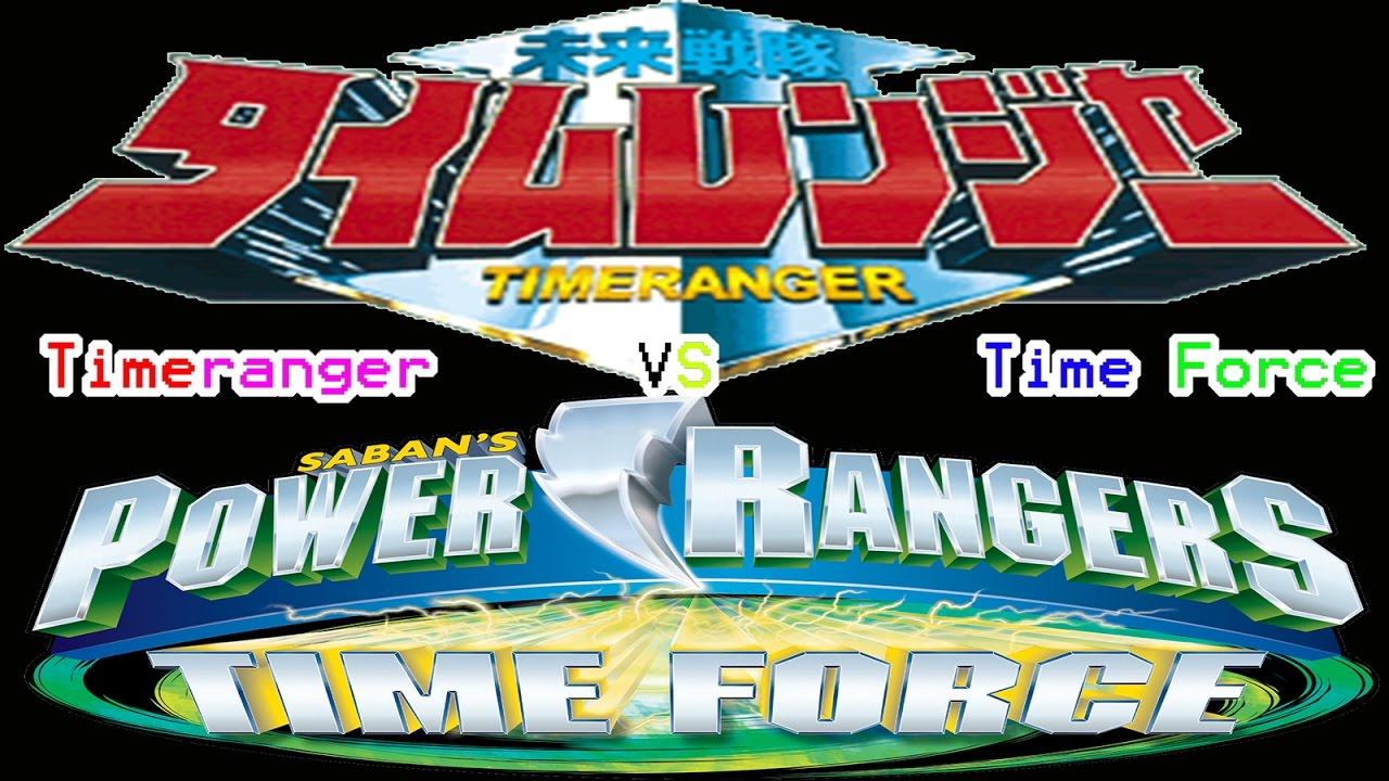 In Comparison Ep  9: Timeranger vs  Time Force