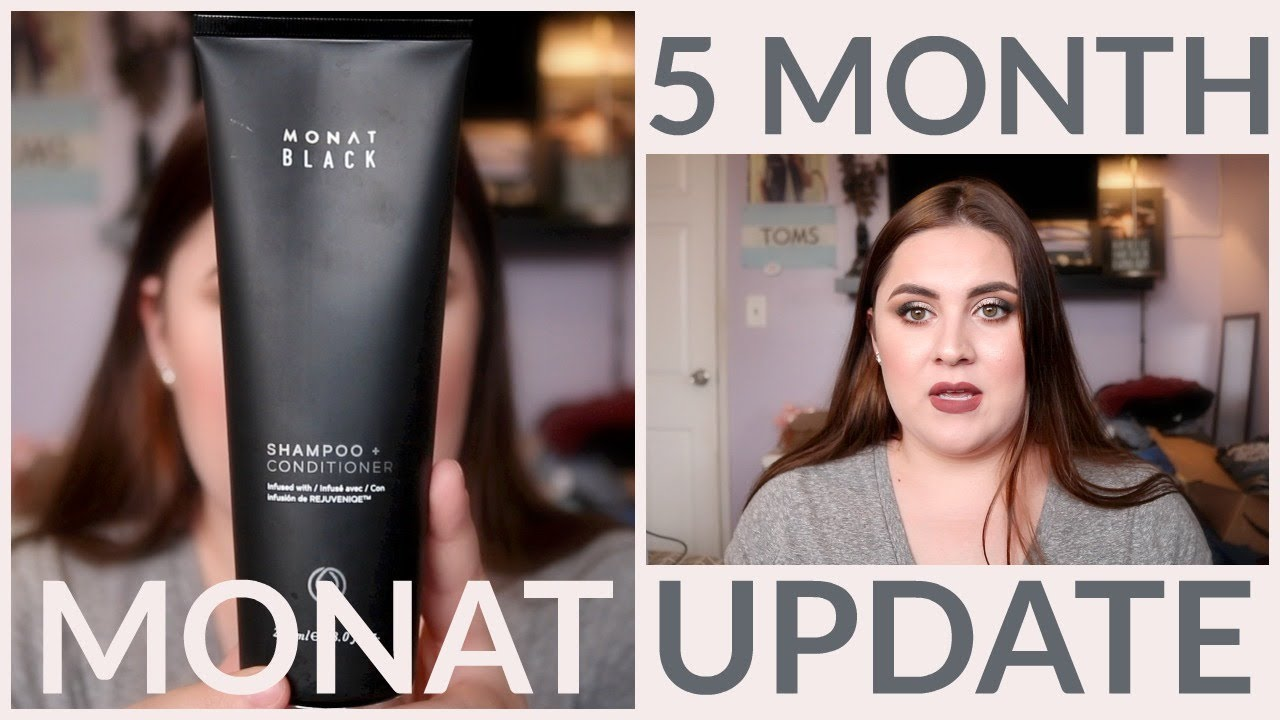 5 Month Monat Update Monat Black Shampoo Mini Review Youtube