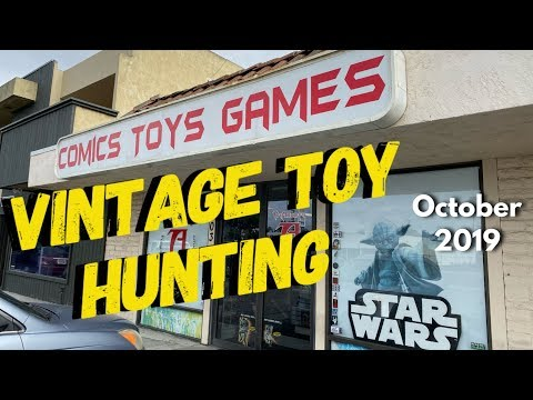Vintage Toy Hunt @ The Toy Addicts Toy Store San Diego 2019 Hunting