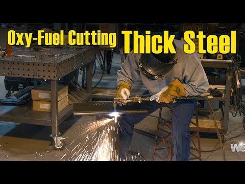 🔥 Tips for Oxy-Fuel Cutting Thick Steel