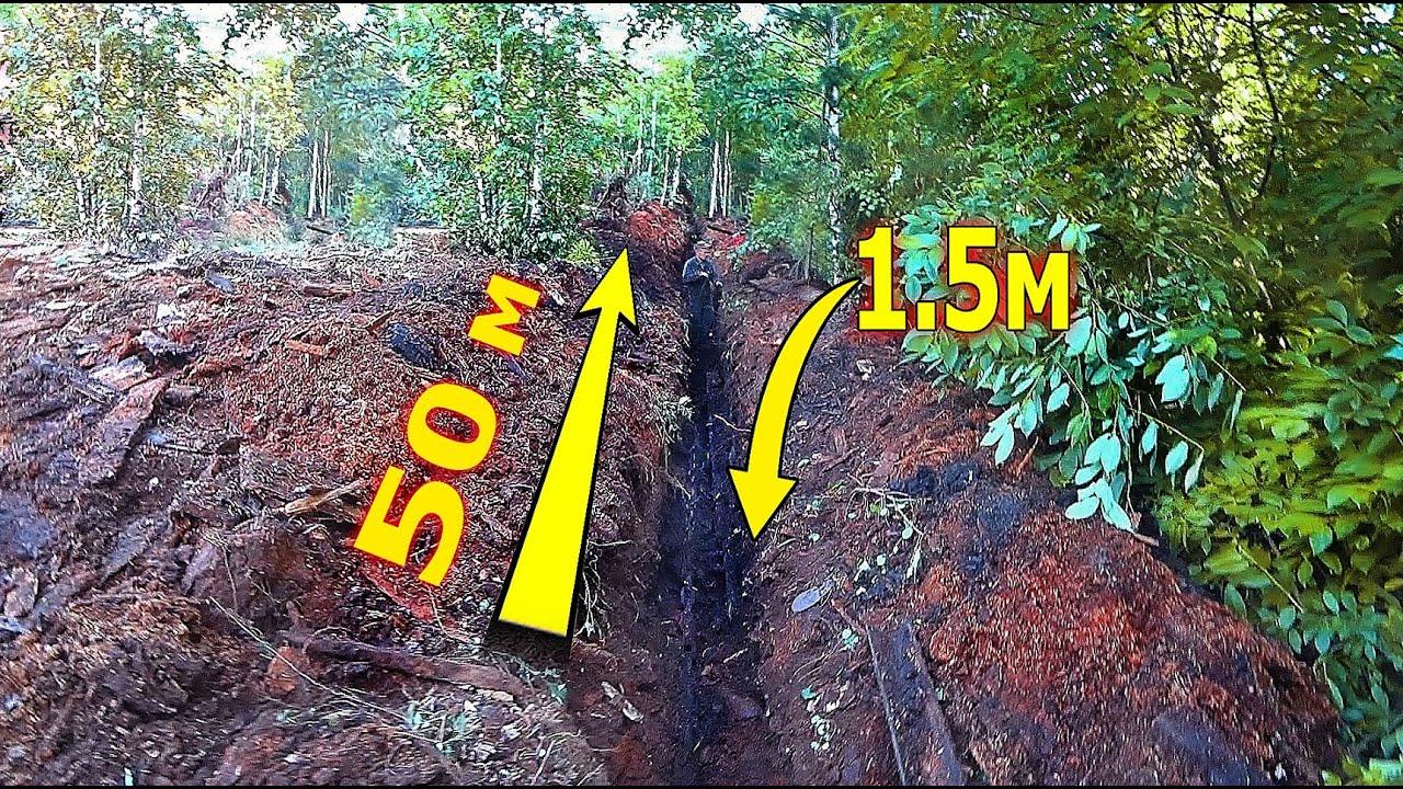 Эта находка заставила рыть траншею длинной 50м и глубиной в человеческий рост!
