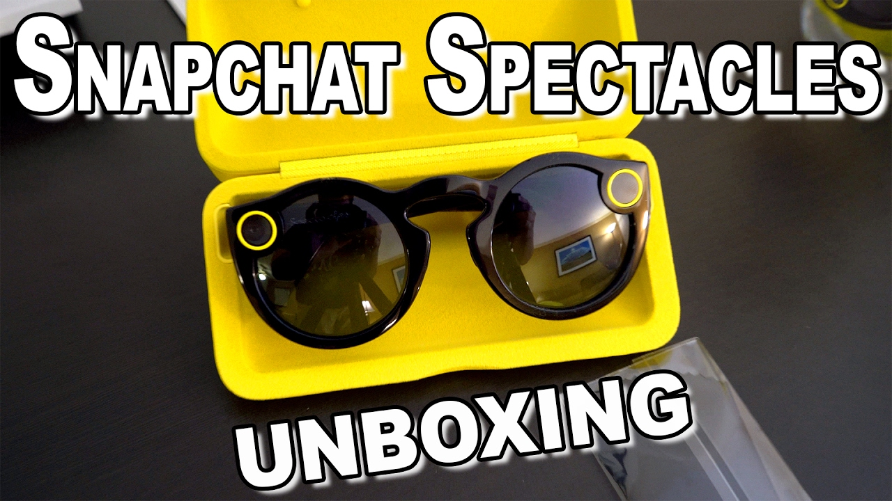 a133614c68ec Snapchat Spectacles Unboxing & Setup - YouTube