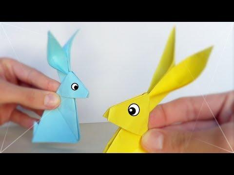 Conejito de Papel - Origami