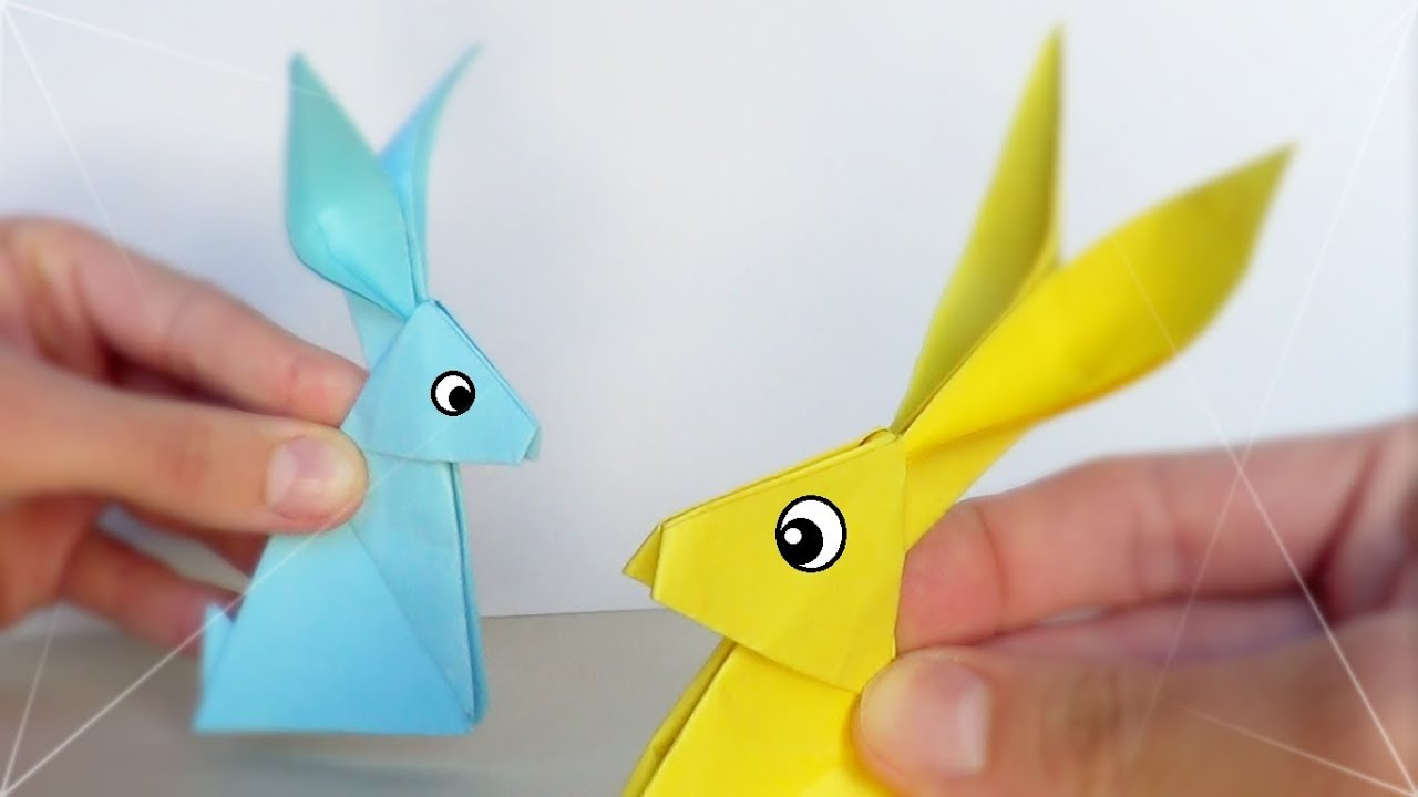 Conejito de Papel  Origami  YouTube