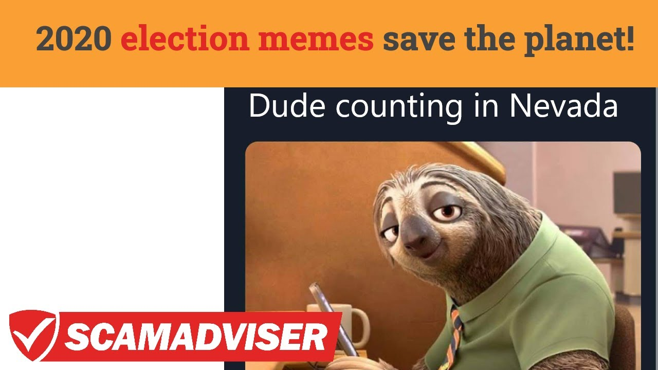 Election Results 2020 Memes Save People From Anxiety Enjoy Some Good Nevada Election Memes Youtube