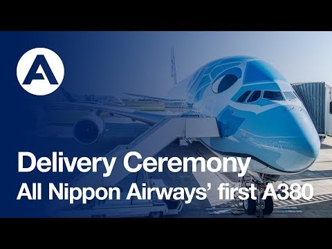 Highlights: First A380 to All Nippon Airways (ANA)