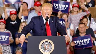 Trump intensifies attack on Democrats as crowd chants, 'Send her back!'
