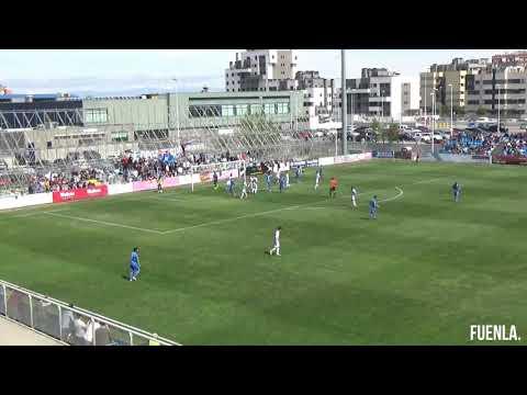 J.33 | CF FUENLABRADA 2-0 REAL VALLADOLID B. Ocasiones y goles