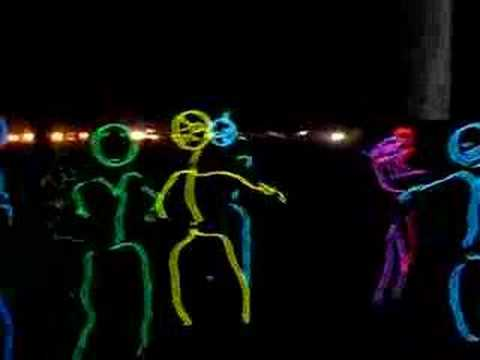 Burning Man Stickmen Wil\' Out - YouTube