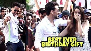 Download lagu Shraddha Kapoor BEST EVER Birthday Gift From Tiger Shroff