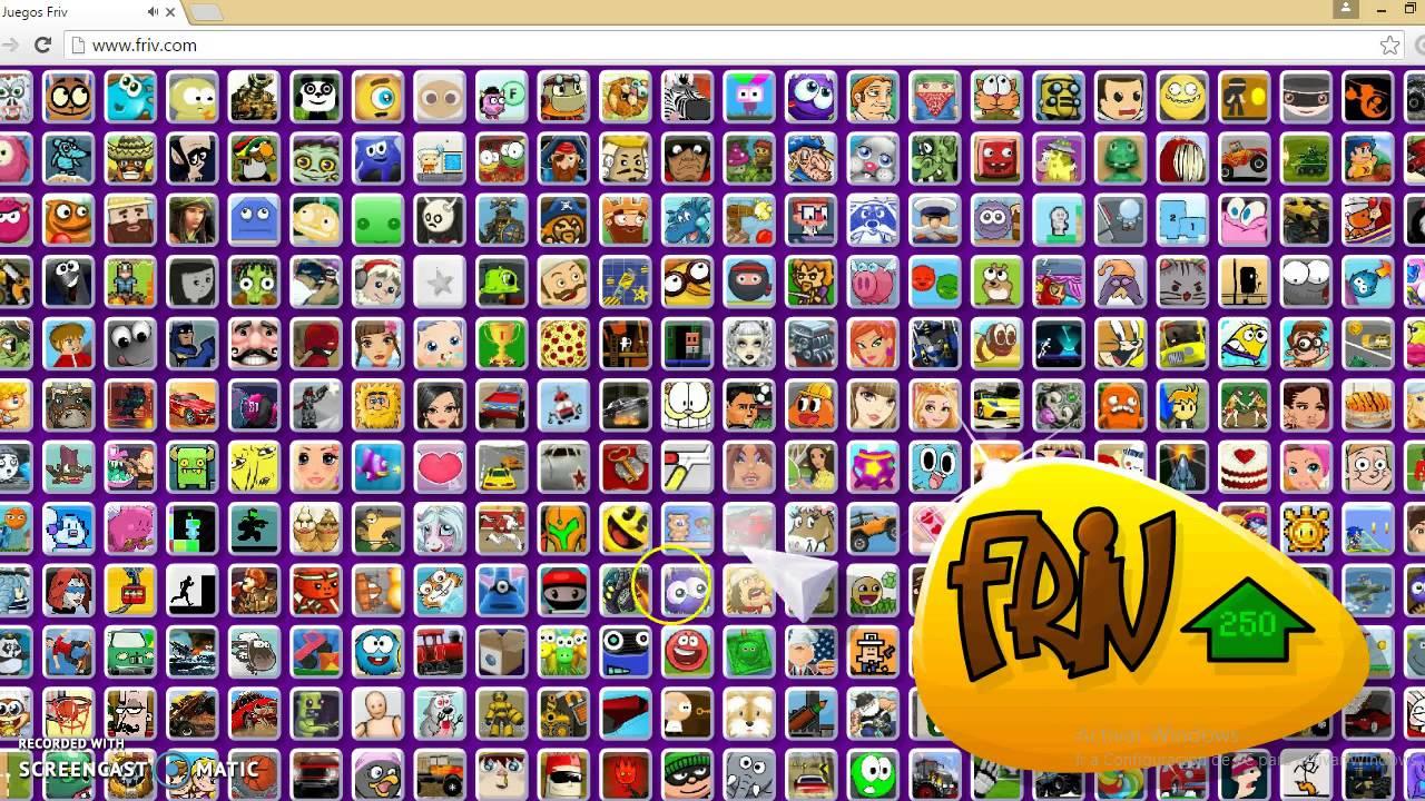 Jugando Juegos Friv 2 Youtube
