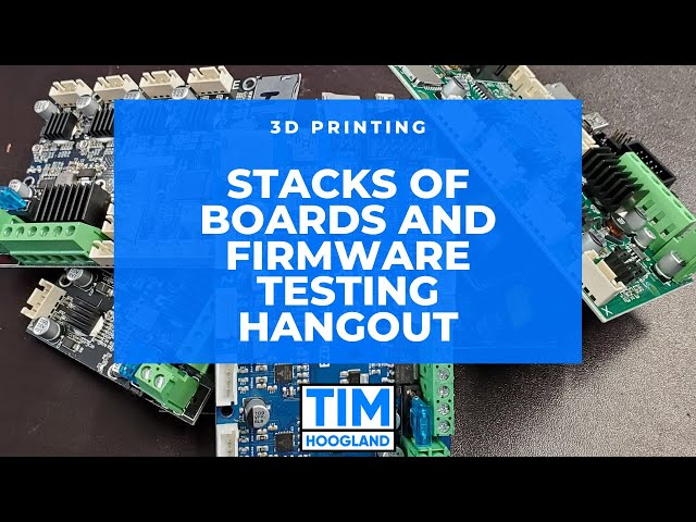 Stacks of Boards and Firmware Testing Hangout | Live Stream