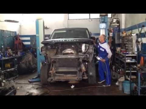 Sostituzione Motore Range Rover Hse Sport Youtube