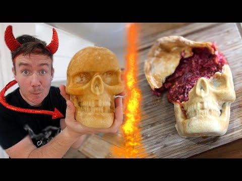 Pizza Skull (Skullzone?!) & Chocolate Skulls!