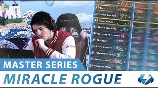 Miracle Rogue | Master Series | Hearthstone | [Witchwood]