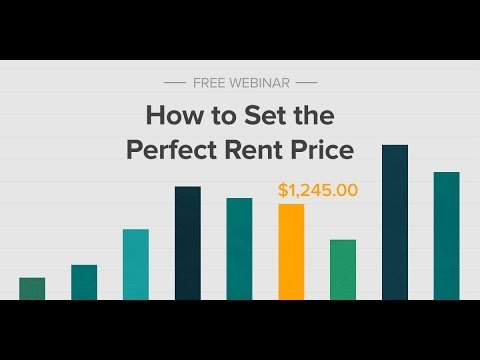How to Set the Perfect Rent Price