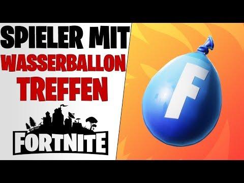Fortnite: Triff Spieler mit einem Wasserballon in unterschiedlichen Matches - 14 Tage Sommer