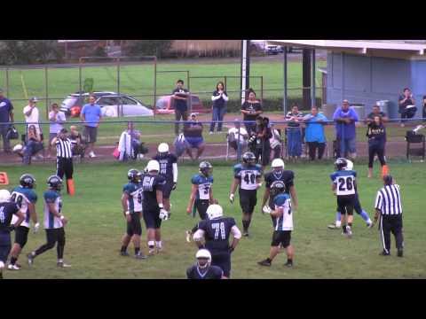 ScoringLive: Kapolei vs. Kailua - Martin Tigilau, 8 yard pass from Noah Auld