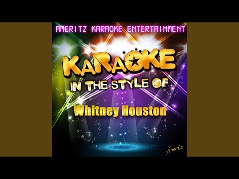 I Didn't Know My Own Strength (In The Style Of Whitney Houston) (Karaoke Version)