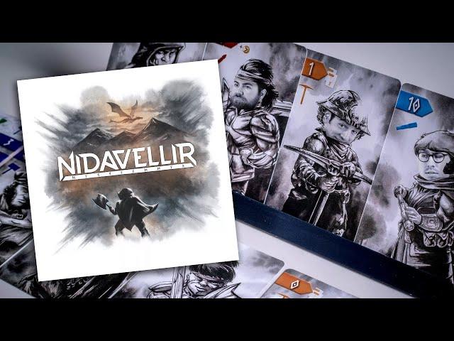 Nidavellir - Règles et critique!