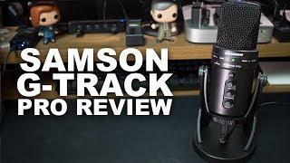 Самсон G-трек про USB мікрофон і інтерфейс огляд / тест