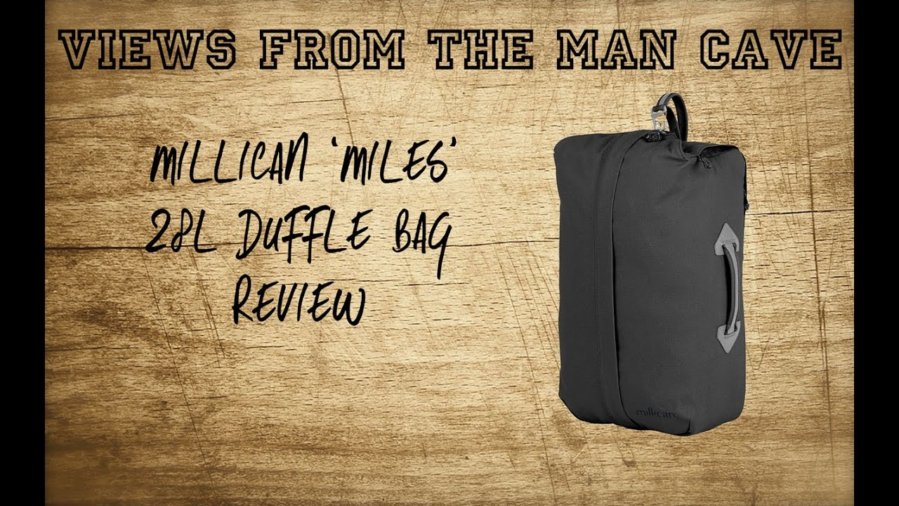 a0b3041efb Millican Miles 28 litre Duffle Bag Review - YouTube