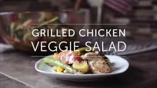 Velata Recipe Of The Month - May 2014 Grilled Chicken Veggie Salad
