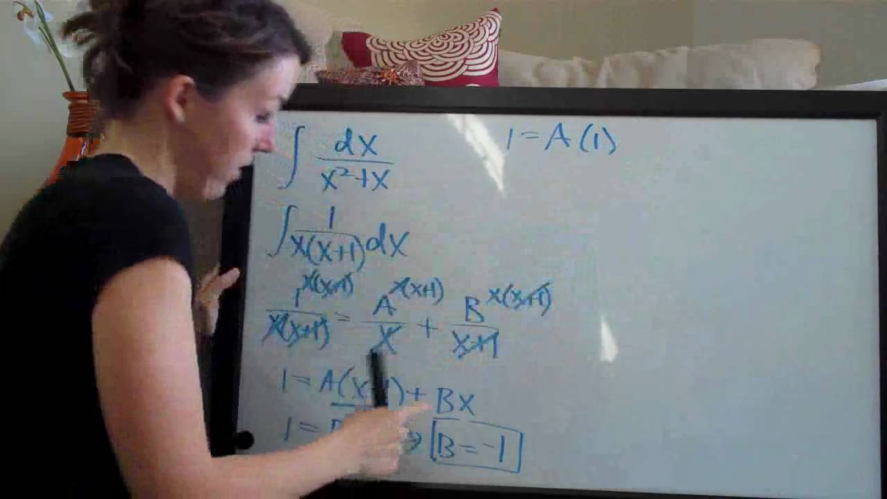 Partial fractions, distinct linear factors (KristaKingMath) - YouTube
