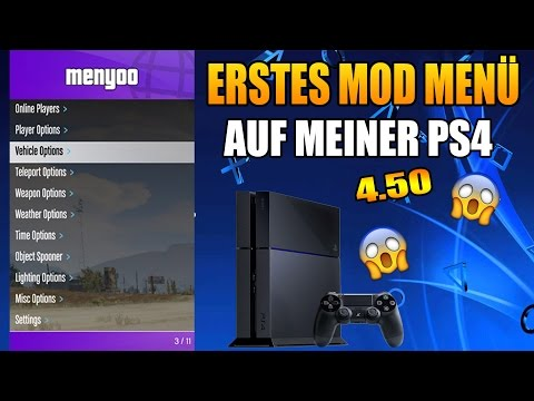 GTA V Simple Mod Menu v1 0 for PS4 1 76 Released by 2much4u