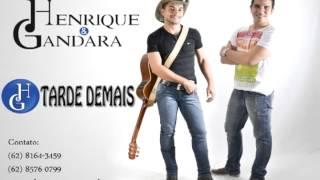 TOP SERTANEJO 2013 - TARDE DEMAIS - HENRIQUE E GANDARA