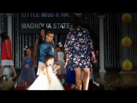 2016 Little Miss and Mr. Magnolia State Pageant runway parade