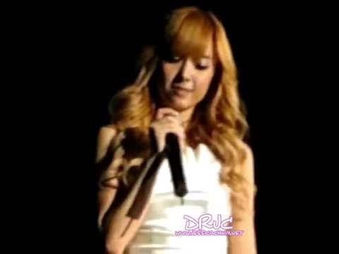 SNSD Concert- Jessica 'One Year Later' ft. Onew(SHINee) @ Shanghai (100417)