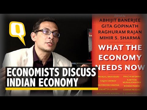 What Indian Economy Needs Now: Mihir Shama and Abhijit Banerjee Discuss New Book