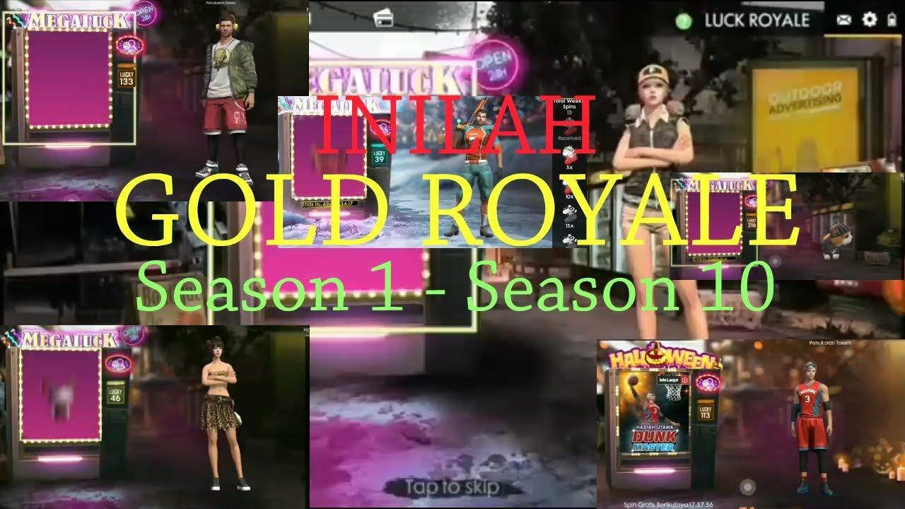 48+ Gambar Free Fire Season 1 Sampai 10 HD Terbaru