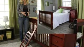 Davinci Kalani 4 In 1 Convertible Crib And Changer Combo - Product Review Video