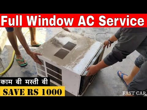 Full Window AC Service With Step By Step, Save Rs 1000 On AC Service