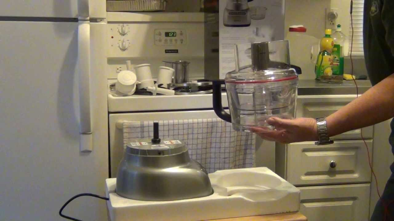 Kitchenaid 9 Cup Food Processor Unboxing   YouTube