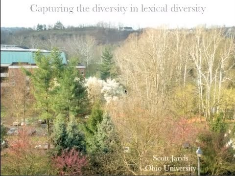 """""""Capturing the diversity in lexical diversity,"""" by Scott Jarvis"""