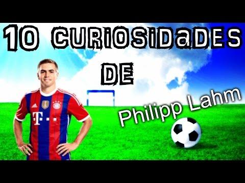 """10 Curiosidades de """"PHILIPP LAHM"""""""