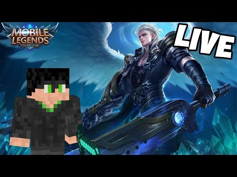 (LIVE!) MOBILE LEGENDS!! ROAD TO MYTHIC GAME INTENSE!! W/Nevin gaming