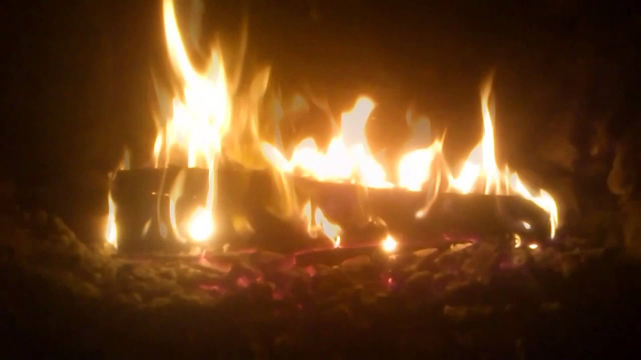 Fuego de chimenea relajante hd1080p sonido natural del - Fuego falso para chimenea ...