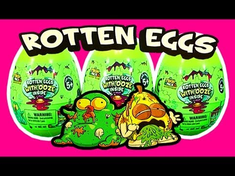 surprise eggs trash pack rotten eggs with ooze fart fx micro chargers slime trap leokimvideo. Black Bedroom Furniture Sets. Home Design Ideas