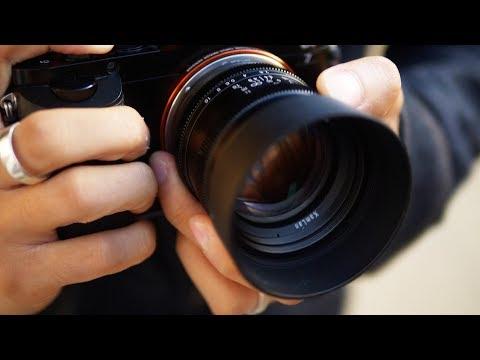 Kai W по-русски: 50mm F/1.1 - Боке-зверь за $160!