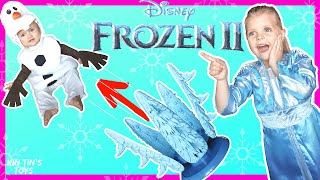 Elsa makes Olaf FLY! | NEW FROZEN 2 GAME