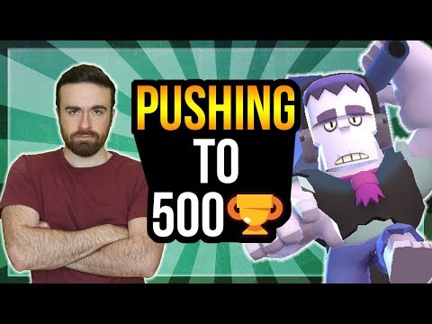 Frank Is OP In Showdown! Pushing Up Towards 500 Trophies! [Brawl Stars]