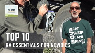 Ep. 107: Top 10 RV Essentials for Newbies | RV camping gear how-to