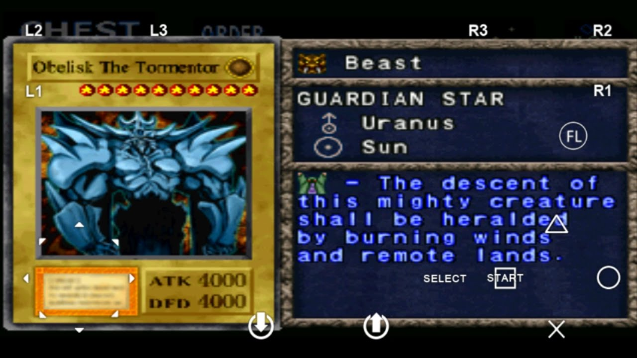 yu gi oh forbidden memories 2 ultimate obelisk the tormentor