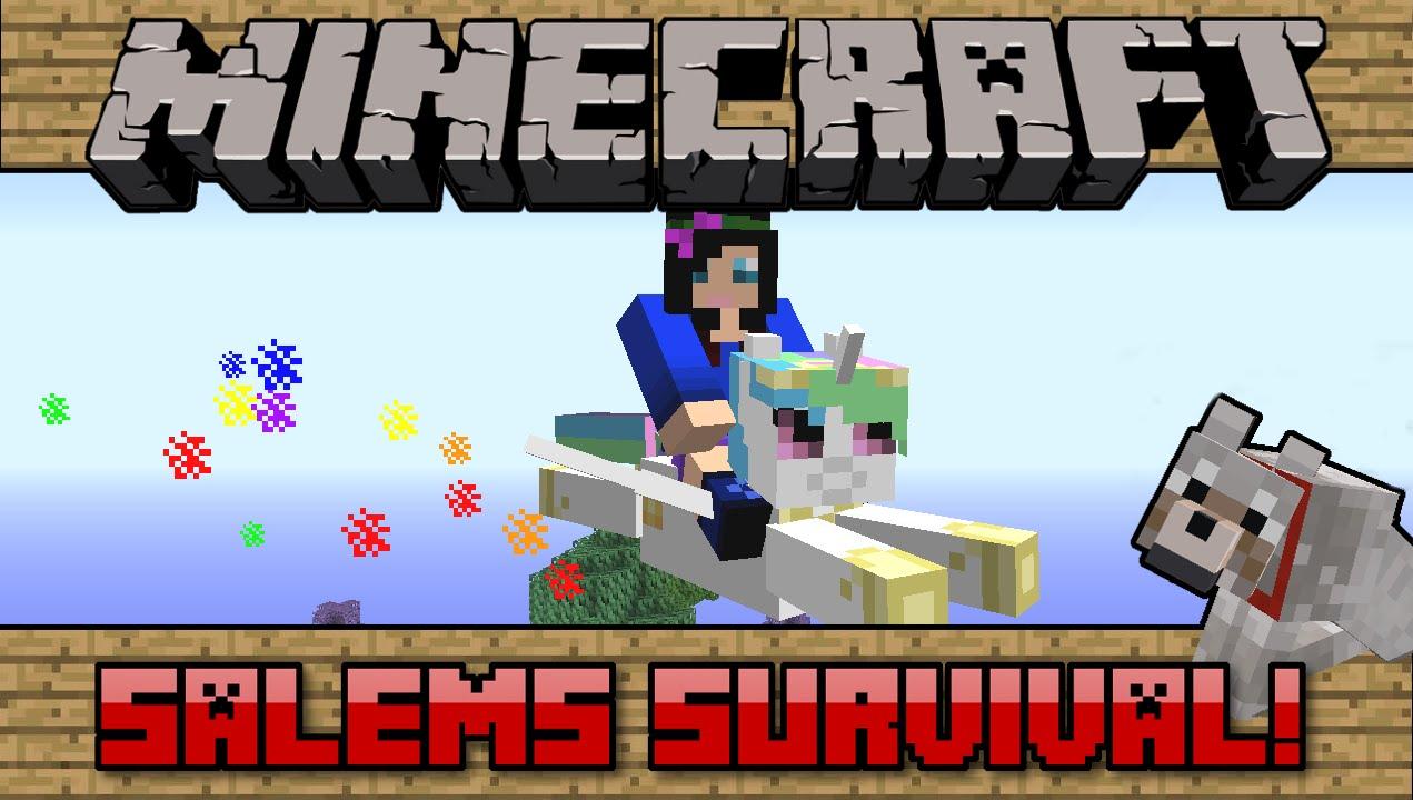 Squishy survival 9 - 124 Salems Survival Minecraft Pc